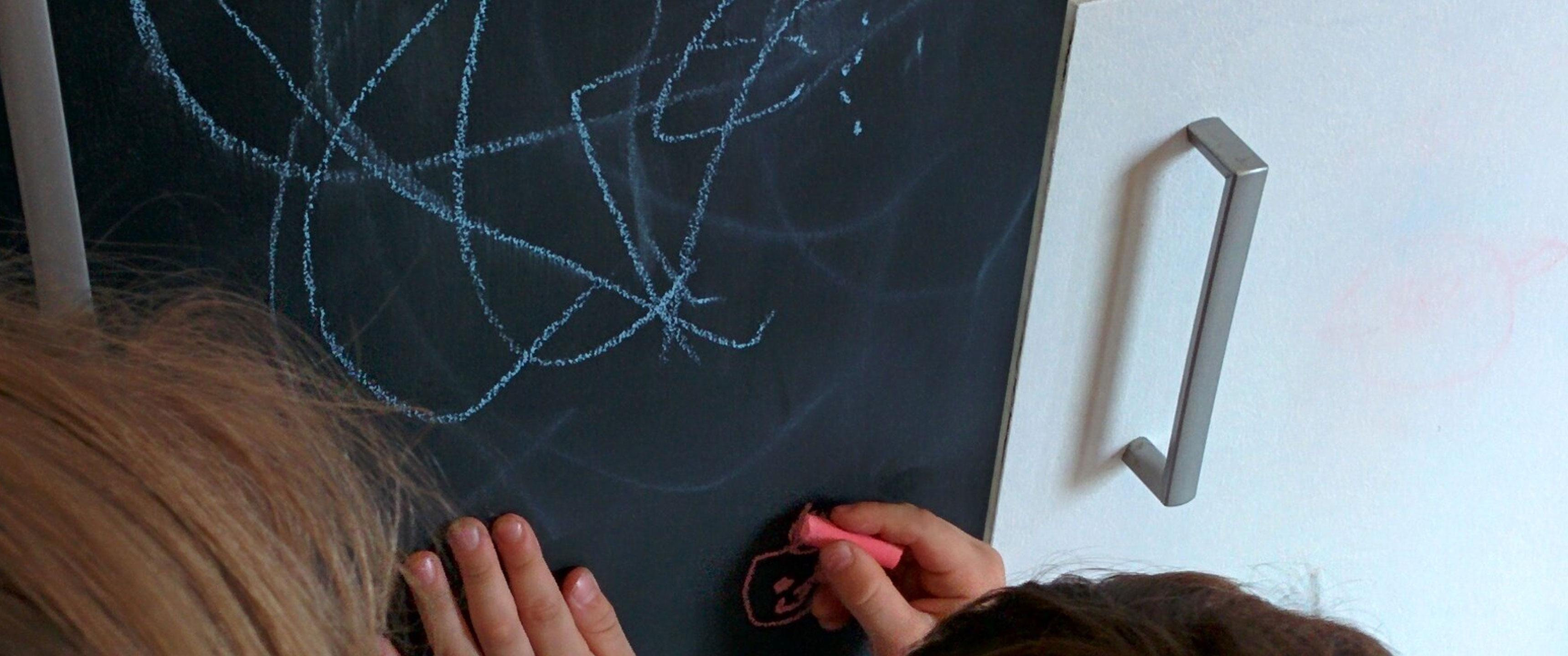 Réaliser une peinture tableau magnétique